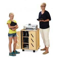 Jonti-Craft® Laptop and Tablet Storage Cart