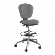 Metro™ Extended-Height Chair - Gray