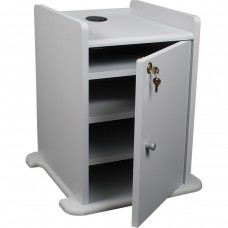 Xtra Long Pres Cart Opt Cabinet (Gray)
