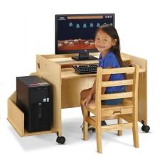 Jonti-Craft® Enterprise Single Computer Desk