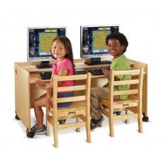 Jonti-Craft® Enterprise Double Computer Desk