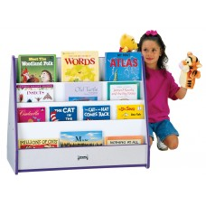 Rainbow Accents® Double Sided Pick-a-Book Stand - Blue