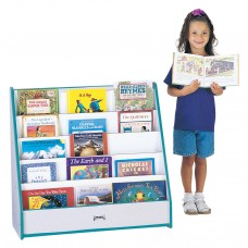 Rainbow Accents® Flushback Pick-a-Book Stand - Blue
