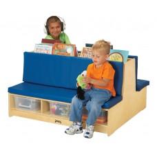 Jonti-Craft® Read-a-Round Couch - Blue