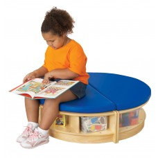 Jonti-Craft® Read-a-Round Island - Blue