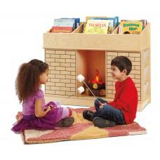 Jonti-Craft® Storybook Fireplace
