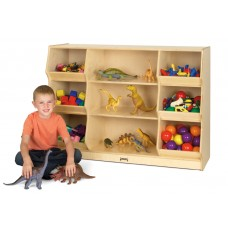 Jonti-Craft® Open Storage with Beveled Front