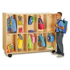 Jonti-Craft® 20 Section Mobile Backpack Cubbie