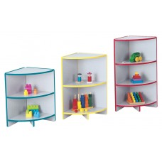 Rainbow Accents® Toddler Outside Corner Storage - Yellow