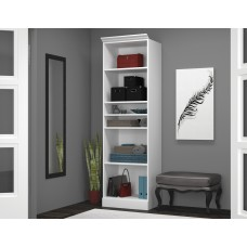 "Versatile by Bestar 25"" Storage unit in White"