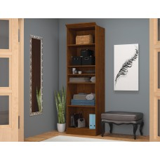 "Versatile by Bestar 25"" Storage unit in Tuscany Brown"