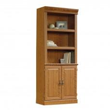 Orchard Hills Library With Doors - Carolina Oak