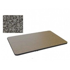 Bar & Cafe Table Parts-TOP ONLY - 30x42 - Black Granite