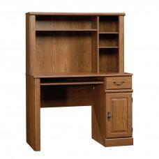 Orchard Hills Computer Desk w/Hutch - Milled Cherry