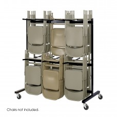 Two-Tier Chair Cart - Black