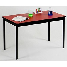 """High Pressure Lab Table-36"""" Height - 30""""x48"""" - Red"""