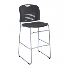 Vy™ Bistro-Height Sled Base - Black