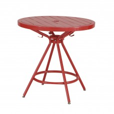 CoGo™ Steel Outdoor/Indoor Table - Red