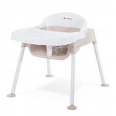 "Secure Sitter™ Feeding Chair 11"" Seat Height  - White/Tan - N/A"