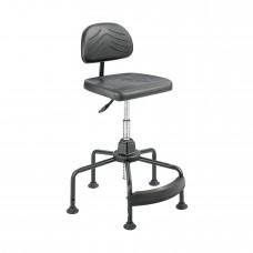 Task Master® Economy Industrial Chair - Black