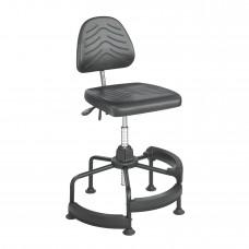 Task Master® Deluxe Industrial Chair - Black