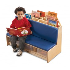 Jonti-Craft® Corner Literacy Nook - Blue