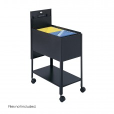 Extra Deep Mobile Tub File with Lock, Letter Size