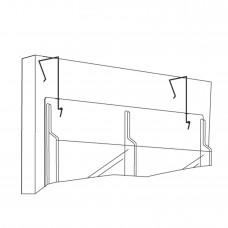 Display Wire Hanger - Black