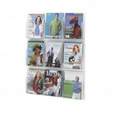 Clear2c™ 9 Magazine Display - Clear