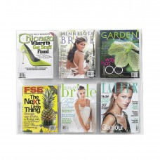 Clear2c™ 6 Magazine Display - Clear