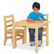 "Jonti-Craft® Multi-Purpose Square Table - 10"" High - Maple"