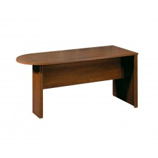 Embassy peninsula table in Tuscany Brown