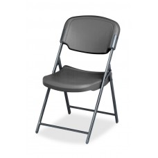 4 Pack Folding Chair, Charcoal