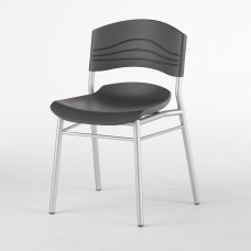 2 Pack CaféWorks Café Chairs, Black