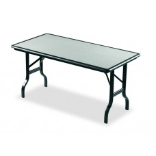 "IndestrucTable Folding Table - Granite - 30"" x 60"""