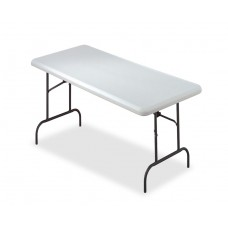 "IndestrucTable TOO Folding Table,1200 Series - Platinum - 30"" x 60"""