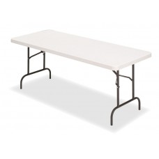 "IndestrucTable TOO Folding Table, 500 Series - Platinum - 30"" x 60"""