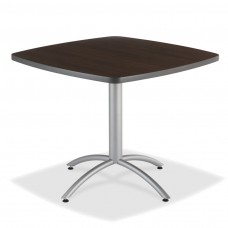 "CaféWorks Café Table 36"" Square, Walnut"
