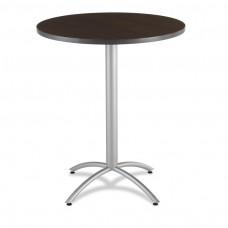 """CaféWorks Bistro Table 36"""" Round, Walnut"""