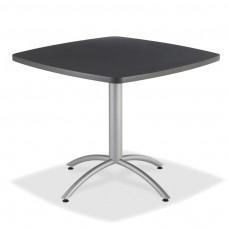 "CaféWorks Café Table 42"" Square, Graphite Granite"