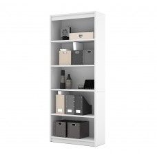 BESTAR standard Bookcase in White