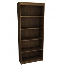 BESTAR standard Bookcase in Chocolate