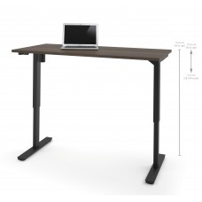 "Bestar 30"" x 60"" Electric Height adjustable table in Antigua"