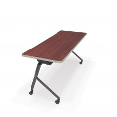 "Mesa Series Nesting Training Table/Desk 23.50"" x 59"", Cherry"