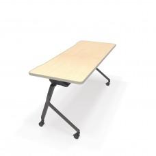 "Mesa Series Nesting Training Table/Desk 23.50"" x 59"", Maple"