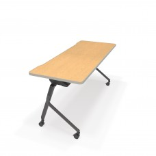 "Mesa Series Nesting Training Table/Desk 23.50"" x 59"", Oak"
