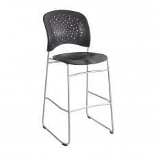 Reve™ Bistro-Height Chair Round Back - Black