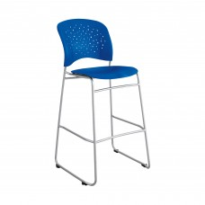 Reve™ Bistro-Height Chair Round Back - Blue