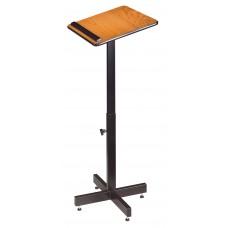 Portable Presentation Lectern Stand (Medium Oak)