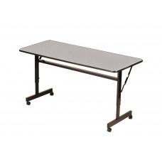 "Econline Flip Top Tables - 24x48"" - Gray Granite"